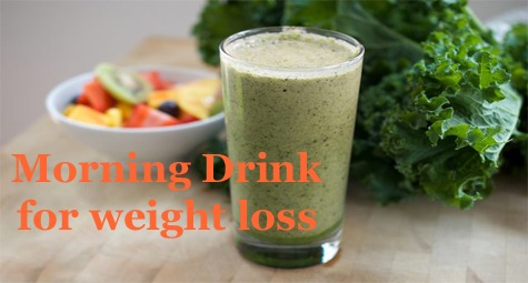 morning drink for weight loss