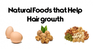 Natural Foods that Help Hair growth