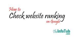 how to check website ranking on google