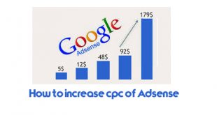 How to increase cpc of Adsense