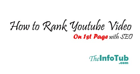 How to Rank Youtube Video On 1st Page with SEO